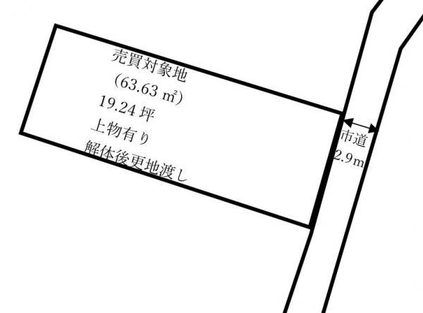 土地 愛媛県今治市波止浜1丁目7-22 JR予讃線波止浜駅 230万円