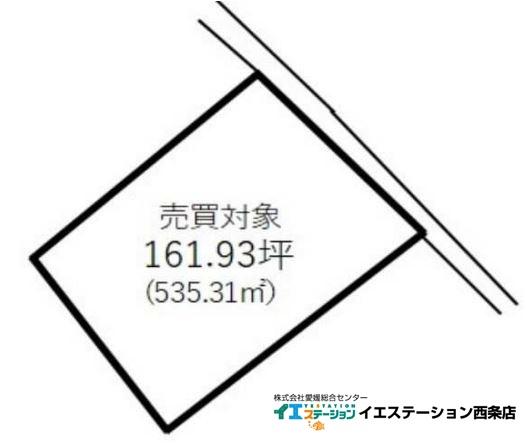 土地 愛媛県西条市桑村275 JR予讃線伊予三芳駅 550万円