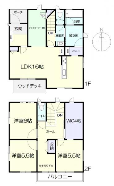 中古戸建 袋井市愛野 JR東海道本線(熱海〜米原)袋井駅 3100万円