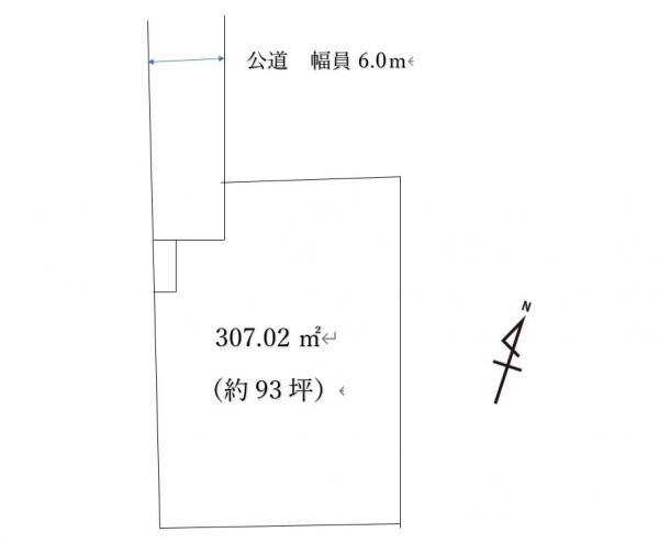 土地 鹿沼市上野町58-10 JR日光線鹿沼駅 650万円