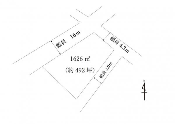 土地 鹿沼市玉田町380-4 東武日光線北鹿沼駅 390万円