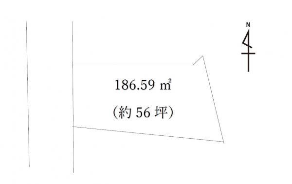 土地 日光市柄倉729-42 東武鬼怒川線新高徳駅 56万円