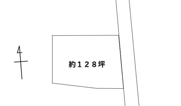 土地 矢板市玉田404-86 JR東北本線(宇都宮線)片岡駅 130万円
