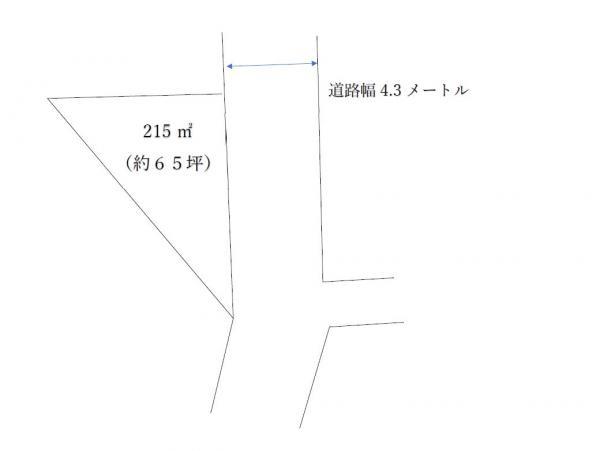 土地 日光市山口964-14 JR日光線下野大沢駅 65万円