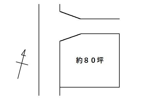 土地 矢板市館ノ川812-11 JR東北本線(宇都宮線)矢板駅 150万円