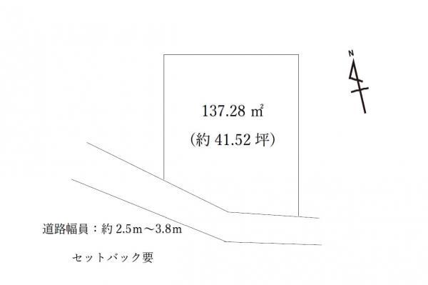 土地 鹿沼市麻苧町1632-7 東武日光線新鹿沼駅 498万円