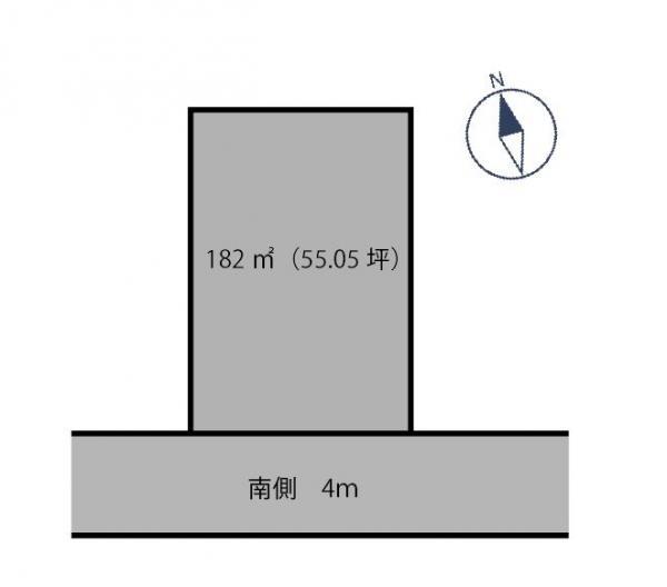土地 栃木県鹿沼市板荷138-30 東武日光線板荷駅 90万円