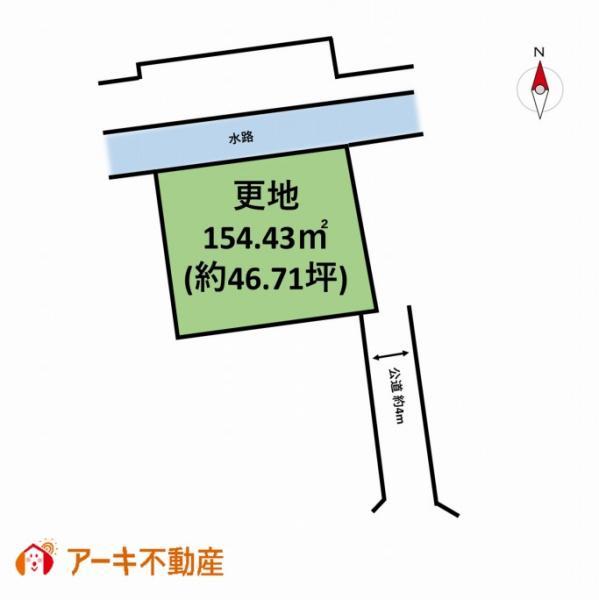 土地 岡山市中区福泊 山陽本線岡山駅 450万円