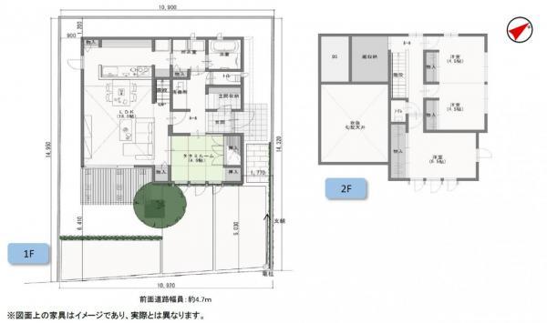 新築戸建 岡山市中区湊 駅 4180万円
