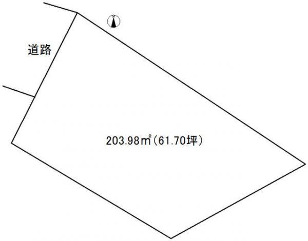 土地 岡山市中区高屋 山陽本線高島駅 1700万円