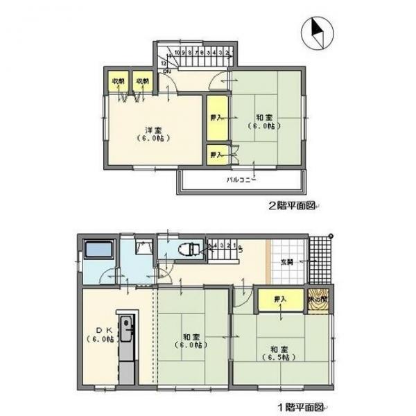 中古戸建 船橋市丸山3丁目 東武野田線馬込沢駅 880万円