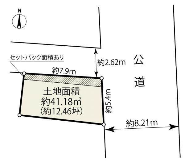 土地 東京都大田区新蒲田3丁目32-8 京急本線雑色駅 2750万円