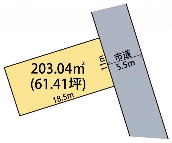 土地 館山市湊288番33 JR内房線館山駅 690万円