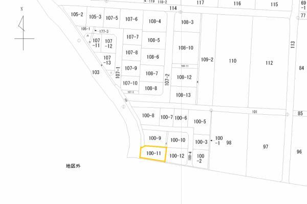 土地 千葉県南房総市三坂100-11 JR内房線那古船形駅 750万円