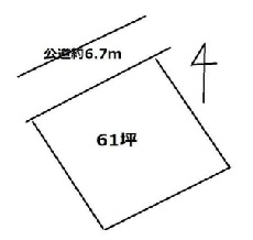 土地 稲敷郡美浦村大字見晴 JR常磐線(取手〜いわき)土浦駅 61万円