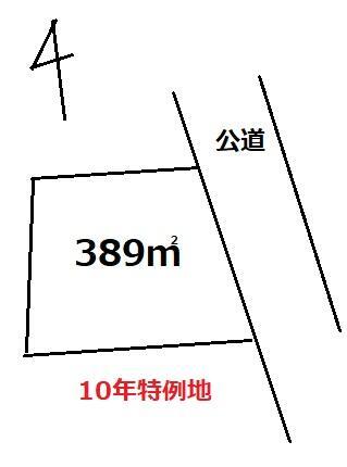 土地 土浦市沢辺 JR常磐線(取手〜いわき)神立駅 350万円