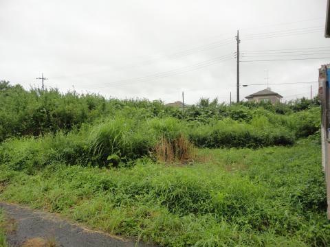 土地 茨城県稲敷郡河内町下加納 JR成田線滑河駅 120万円