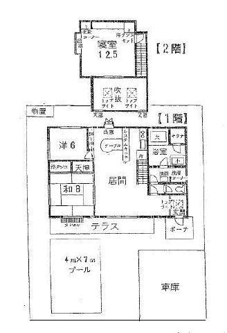 中古戸建 茨城県稲敷市三次 JR成田線下総神崎駅 600万円