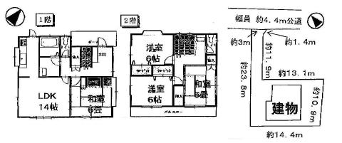 中古戸建 茨城県稲敷市江戸崎甲 JR成田線滑河駅 950万円