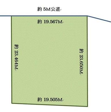 土地 茨城県稲敷市桑山 関東鉄道竜ヶ崎線竜ヶ崎駅 400万円