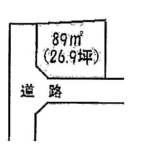 土地 茨城県稲敷市高田 JR常磐線(取手~いわき)牛久駅 30万円