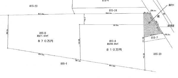 土地 茨城県土浦市真鍋1丁目 JR常磐線(取手~いわき)土浦駅 600万円
