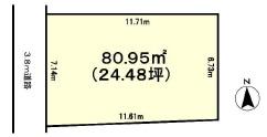土地 茨城県土浦市真鍋3丁目 JR常磐線(取手~いわき)土浦駅 150万円