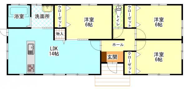 新築戸建 都城市金田町 JR吉都線日向庄内駅 1680万円