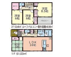新築戸建 秋田市東通観音前 JR奥羽本線秋田駅 2790万円