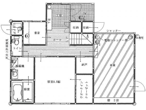 中古戸建 秋田市茨島6丁目 JR羽越本線羽後牛島駅 2180万円