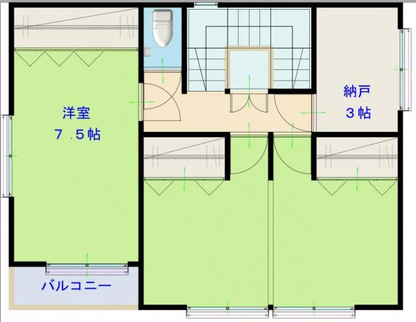 中古戸建 秋田市外旭川字野村 JR奥羽本線土崎駅 2150万円