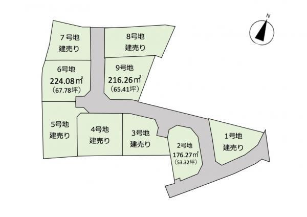 土地 霧島市国分野口西28 6号地 JR日豊本線隼人駅 980万円