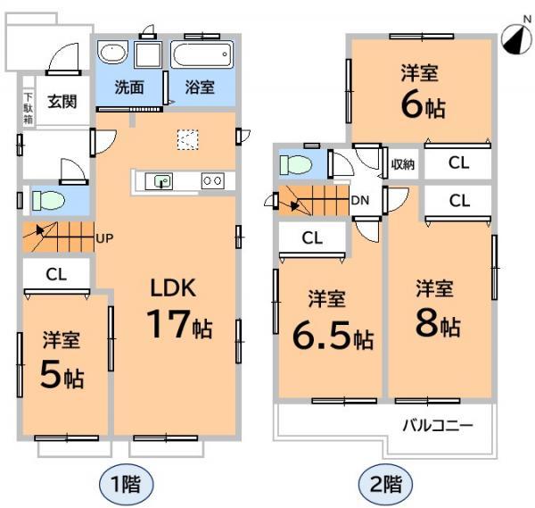 新築戸建 春日井市高森台6丁目 JR中央本線高蔵寺駅 2590万円