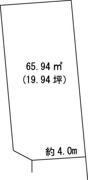 土地 高知市一宮東町3丁目 JR土讃線土佐一宮駅 350万円
