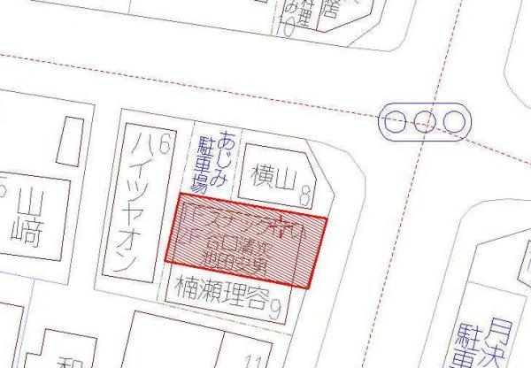 土地 高知市役知町 とさでん交通桟橋線桟橋通一丁目駅 450万円