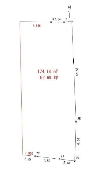 土地 高知市福井町 とさでん交通伊野線旭町一丁目駅 1896.48万円