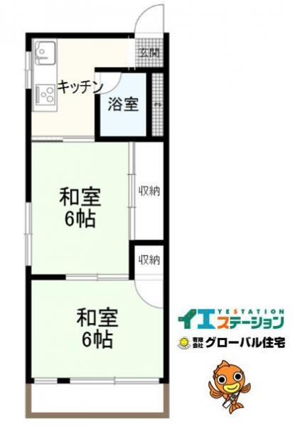 中古マンション 高知市神田 とさでん交通伊野線旭駅前通駅 280万円