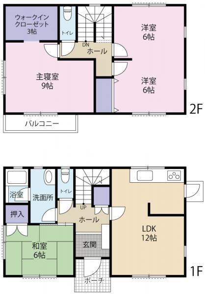 中古戸建 白河市みさか1丁目 JR東北新幹線新白河駅 1250万円