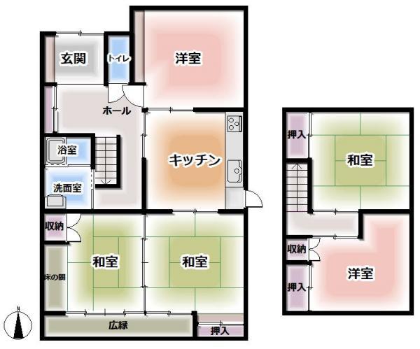 中古戸建 総社市真壁 吉備線東総社駅 1200万円