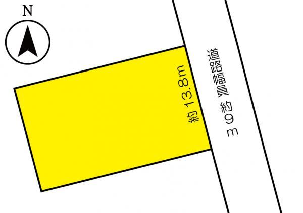 土地 日向市浜町3丁目40-3 JR日豊本線日向市駅 1000万円
