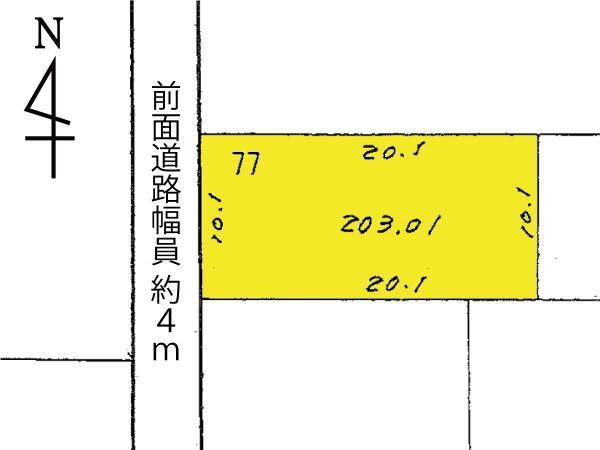 土地 日向市永江町2丁目77 JR日豊本線日向市駅 736.8万円