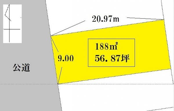 土地 日向市浜町2丁目122 JR日豊本線日向市駅 550万円