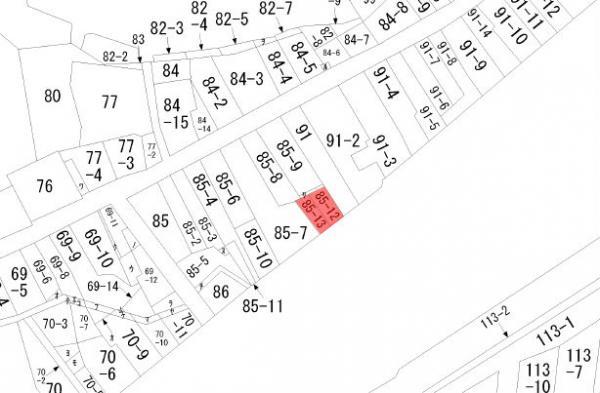 土地 岐阜県高山市愛宕町85−12,85−1 高山本線高山駅 230万円
