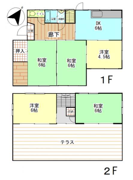 中古戸建 鹿屋市大浦町14177番地2 JR日南線志布志駅 350万円