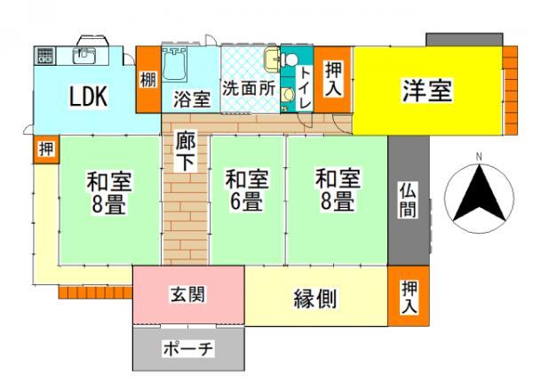 中古戸建 鹿屋市笠之原町 JR日南線志布志駅 1480万円