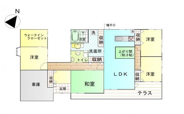 中古戸建 鹿屋市上谷町 JR日南線志布志駅 1680万円