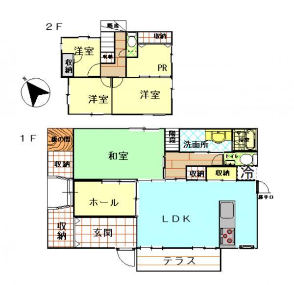 中古戸建 鹿屋市王子町 JR日南線志布志駅 990万円
