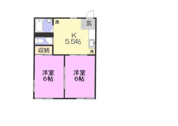 アパート 佐倉市上志津 京成本線志津駅 4万円