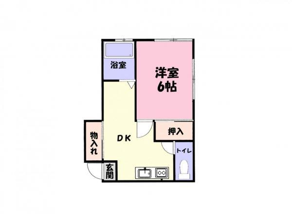 アパート 佐倉市井野 京成本線志津駅 3万円