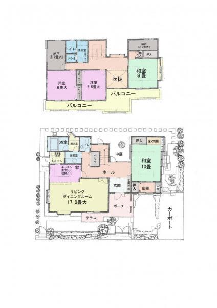 一戸建て 佐倉市ユーカリが丘7丁目 京成本線ユーカリが丘駅 16万円